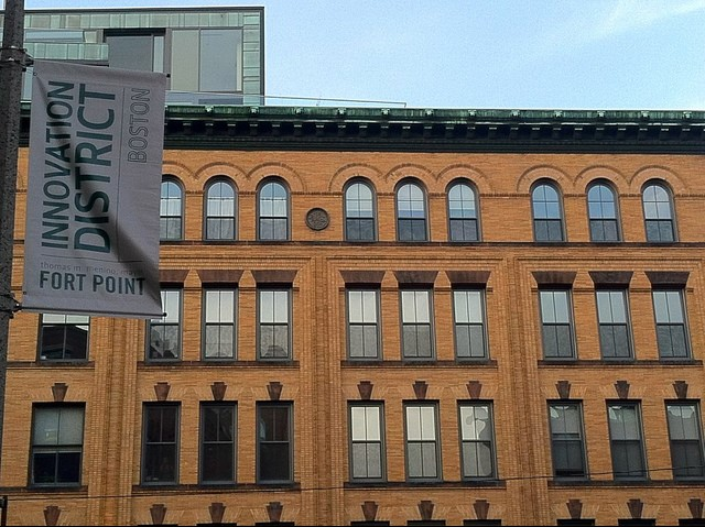 Boston Innovation District with Lofts, photo credit: izzointeractive