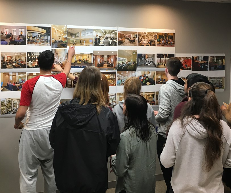 Wall exercise at Western University for a housing master plan